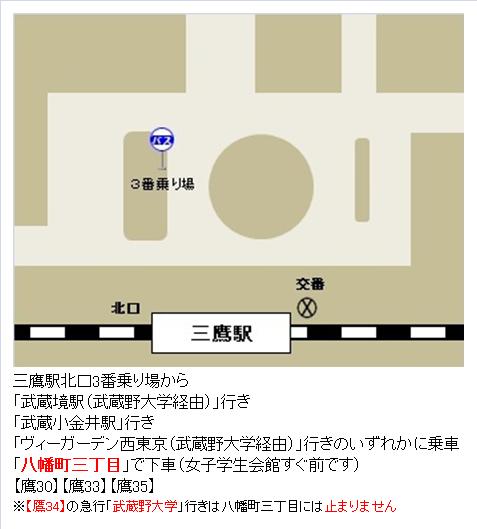 三鷹駅北口